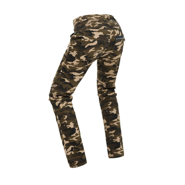Camo Armored | Men's Armored Jeans | Camo Bikers Jeans