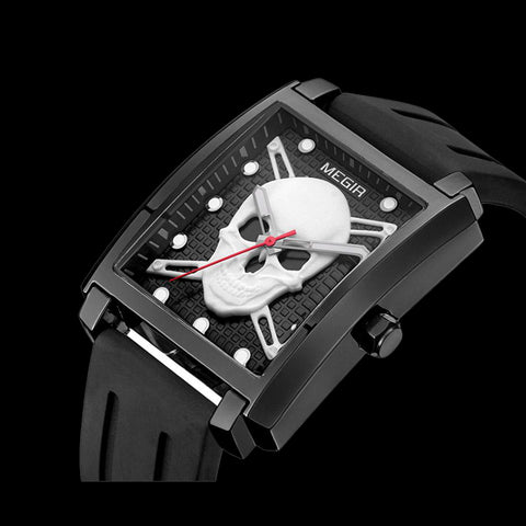 Luminous Skull Watch