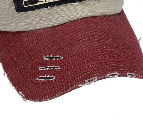 Biker Baseball Cotton Cap