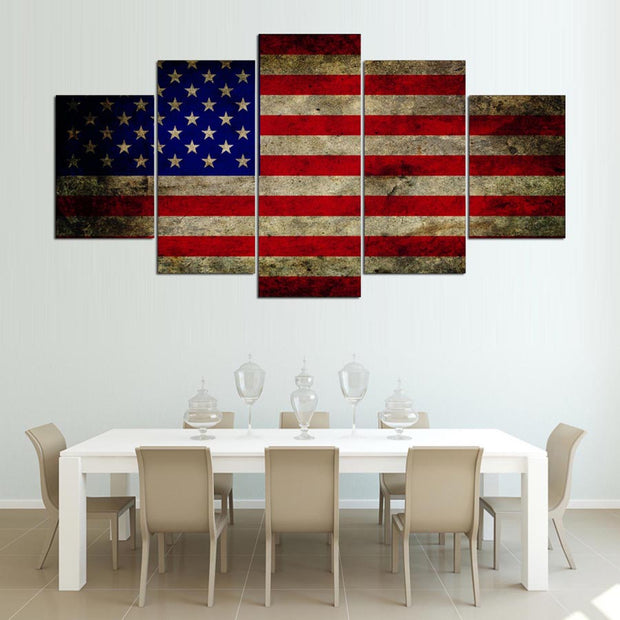 Stars & Stripes Mega Canvas
