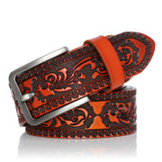 Western Leather Belts