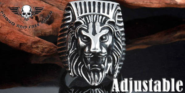 Lion Head Ring