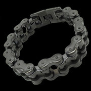 Black Motorcycle Chain