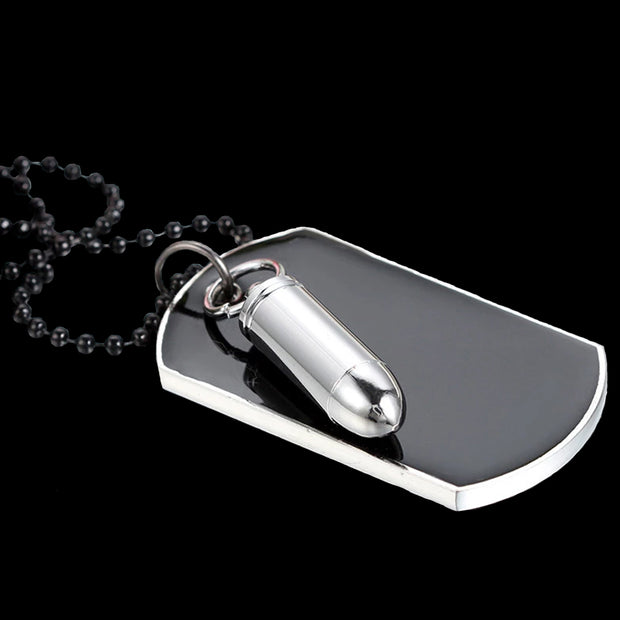 Customizable Dog Tag & Bullet | Bullet Dog Tag | Best Bullet Dog Tag