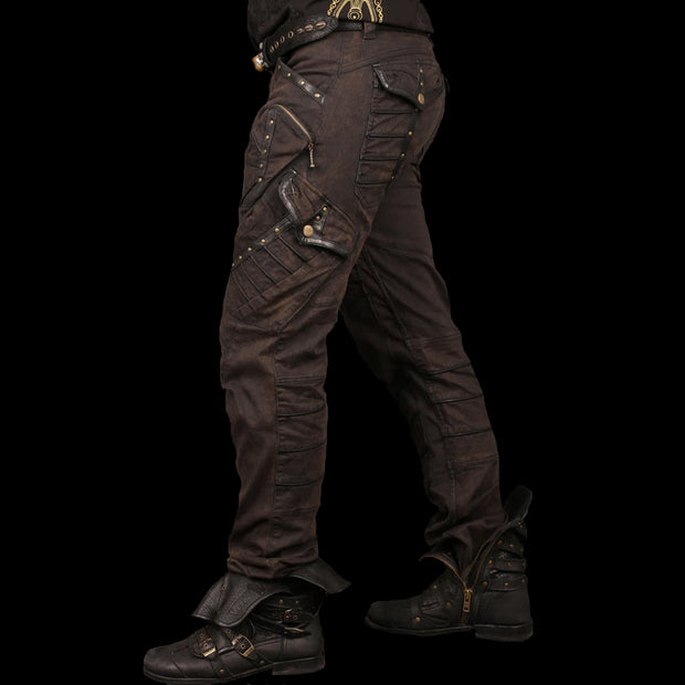 Blade Denim & Leather Pants | Blade Men's Leather Pants | Blade Leather Pants