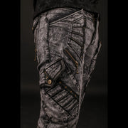 Blade Denim & Leather Pants
