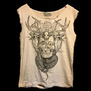 Glowinthedark Skull Shirt