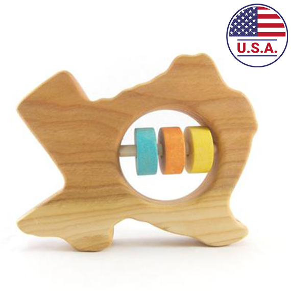 Your State's Wooden Rattle