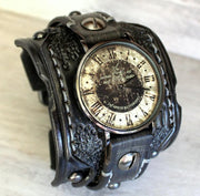 Wild West Leather Cuff Watch