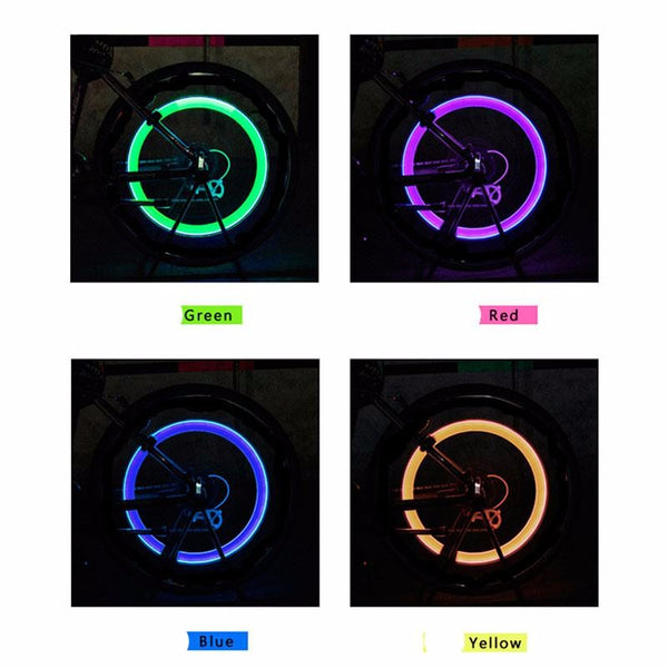 Motion Activated LED Glow (Set of 2) - 4 Different colors