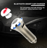 Car Bluetooth Mic & Earbuds