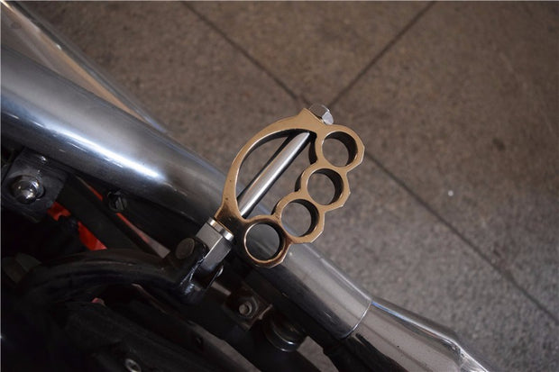 Brass Knuckle Foot Pegs