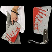 Cleaver Purse | Bloody Cleaver Purse | Meat Cleaver Purse