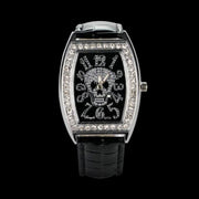 Crystal Skull Watch