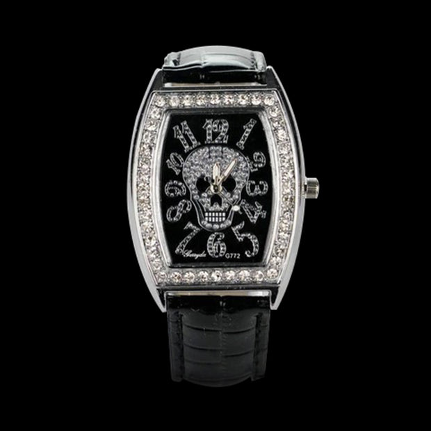 Crystal Skull Watch | Crystal Skull Men's Watch | Crystal Skull Women's Watch