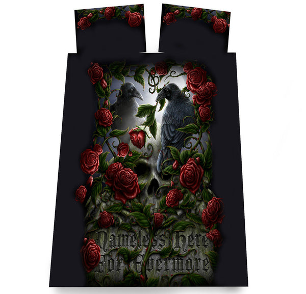 GOTHIC Duvet Cover Set - Double Bed Size