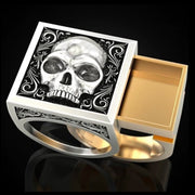 Skullface Stash Ring