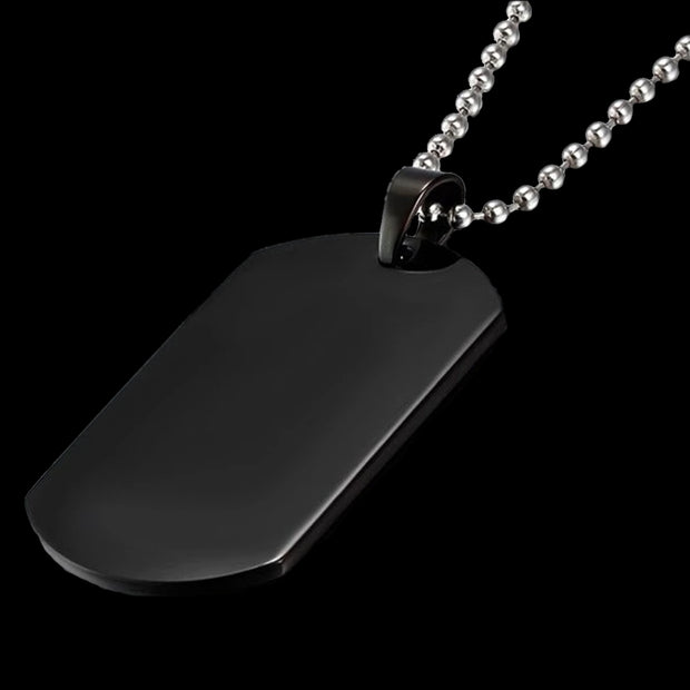 Steel Dog Tag