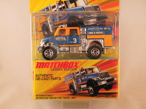 Matchbox Lesney Edition, International Workstar Brush Fire Truck - 2007