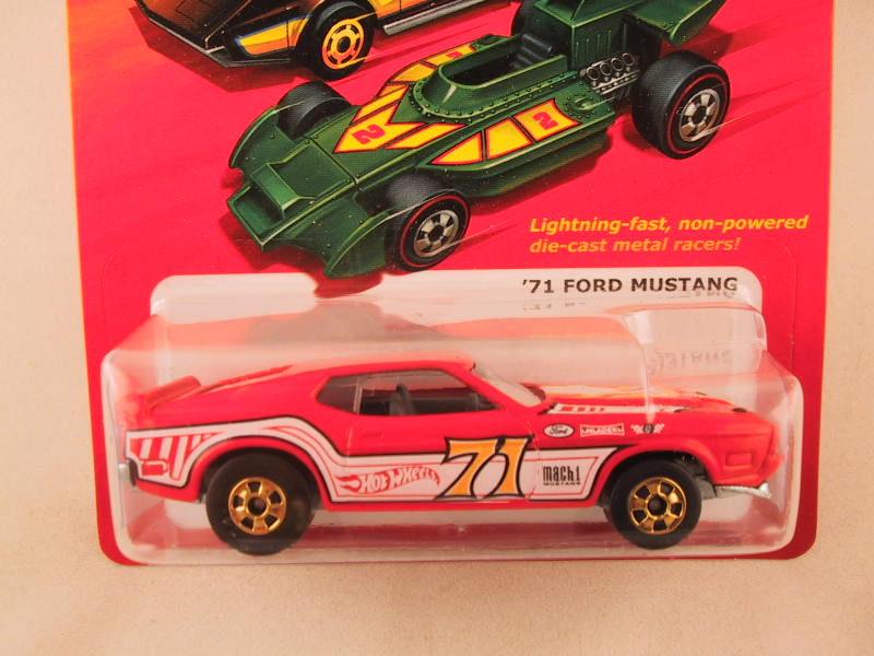 Hot Wheels Hot Ones '71 Ford Mustang
