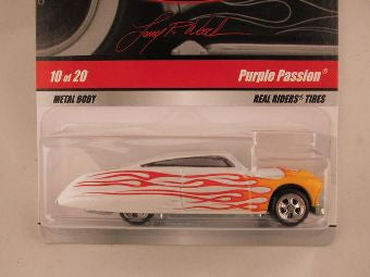 Hot Wheels Larry's Garage 2009, Purple Passion, White/Yellow