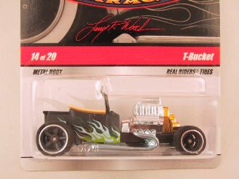 Hot Wheels Larry's Garage 2009, T-Bucket, Black