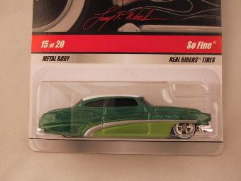 Hot Wheels Larry's Garage 2009, So Fine Green/White