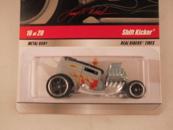 Hot Wheels Larry's Garage 2009, Shift Kicker, Gray