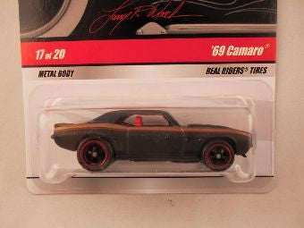Hot Wheels Larry's Garage 2009, '69 Camaro, Black