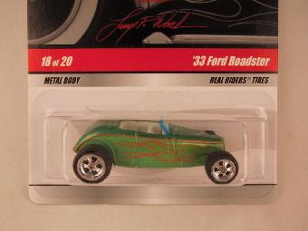 Hot Wheels Larry's Garage 2009, '33 Ford Roadster, Green