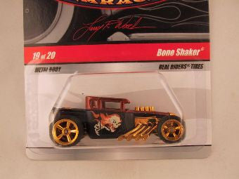 Hot Wheels Larry's Garage 2009, Bone Shaker, Black/Brown