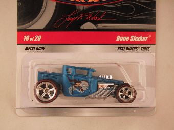 Hot Wheels Larry's Garage 2009, Bone Shaker, Blue