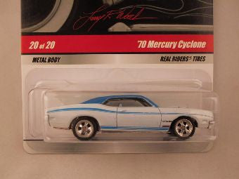 Hot Wheels Larry's Garage 2009, '70 Mercury Cyclone, Blue/White