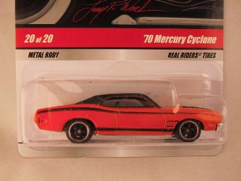 Hot Wheels Larry's Garage 2009, '70 Mercury Cyclone, Orange, Chase with Initials