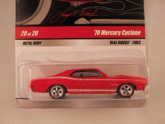 Hot Wheels Larry's Garage 2009, '70 Mercury Cyclone, Red
