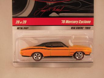 Hot Wheels Larry's Garage 2009, '70 Mercury Cyclone, Yellow