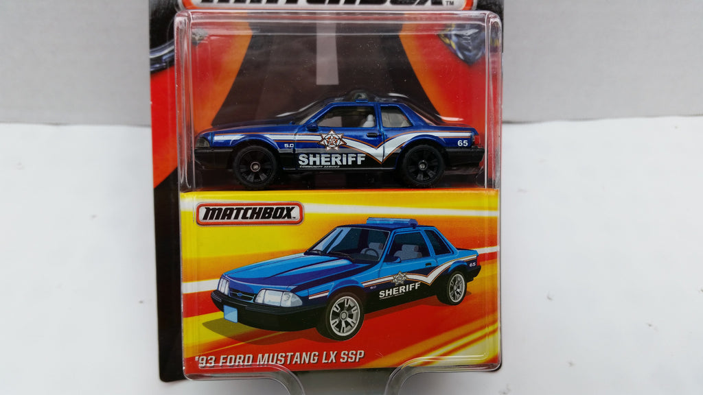 Matchbox Best of the World, Series 1, '93 Ford Mustang LX SSP
