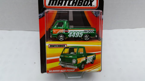 Matchbox Best of the World, Series 1, '66 Dodge A100 Pickup