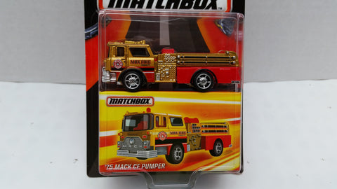 Matchbox Best of the World, Series 1, '75 Mack CF Pumper