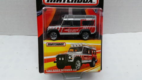 Matchbox Best of the World, Series 1, Land Rover Defender 110