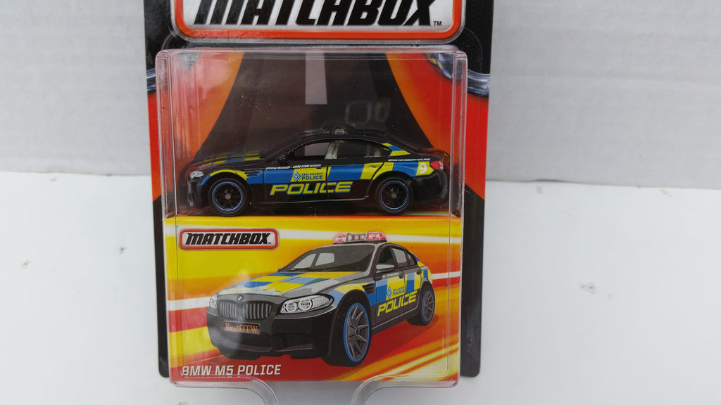 Matchbox Best of the World, Series 2, BMW M5 Police