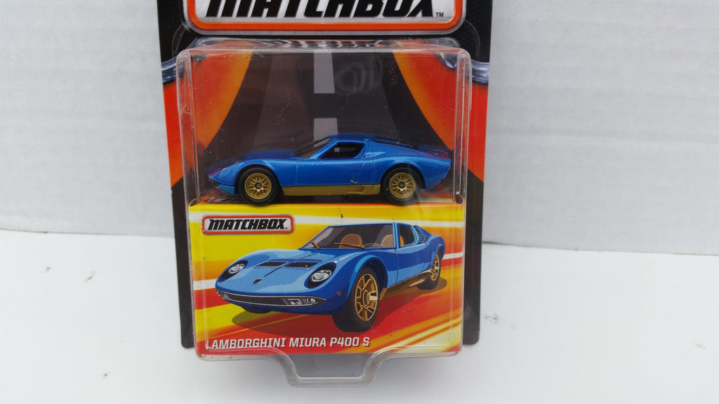Matchbox Best of the World, Series 2, Lamborghini Miura P400 S