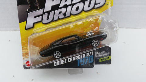 Hot Wheels Fast and Furious 1:55 Scale, 1970 Dodge Charger R/T
