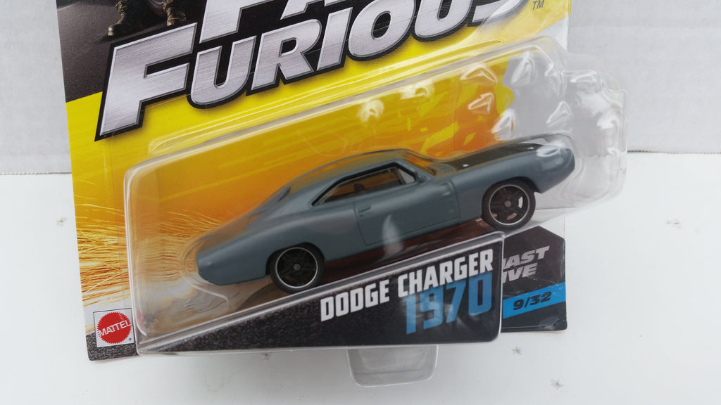 Hot Wheels Fast and Furious 1:55 Scale, 1970 Dodge Charger