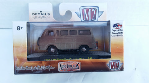M2 Machines Auto-Projects, Release 40, 1965 Ford Econoline Camper Van