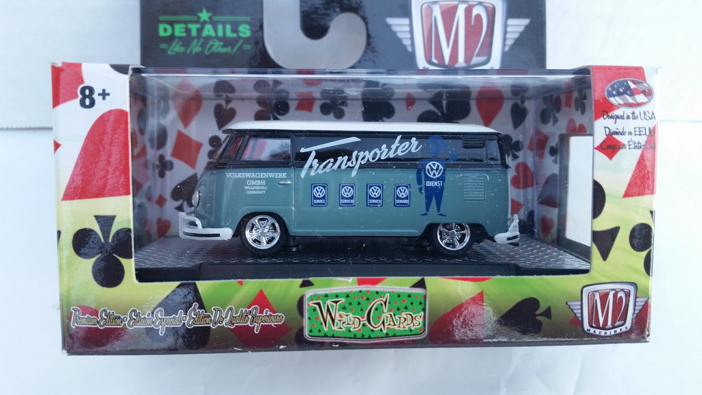 M2 Machines Wild Card Auto-Thentics, Release 12, 1960 VW Delivery Van USA Model