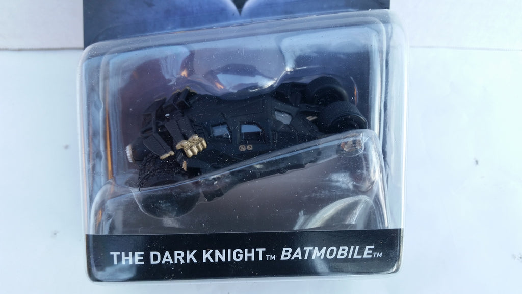 Hot Wheels Batman Vehicles 2017 1:50 Scale, The Dark Knight Batmobile