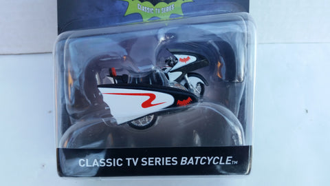 Hot Wheels Batman Vehicles 2017 1:50 Scale, Classic TV Series Batcycle