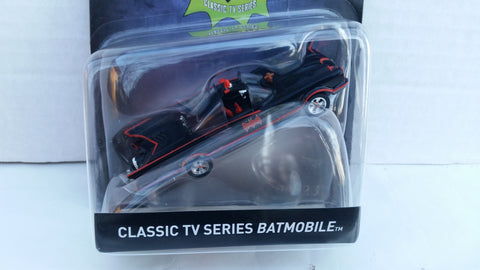Hot Wheels Batman Vehicles 2017 1:50 Scale, Classic TV Series Batmobile