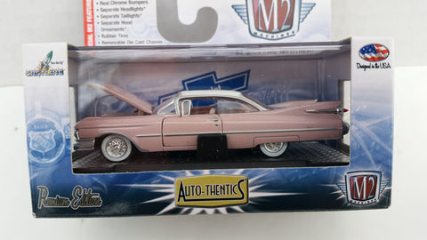 M2 Machines Auto-Thentics, Release 30, 1959 Cadillac Series 62, White Roof
